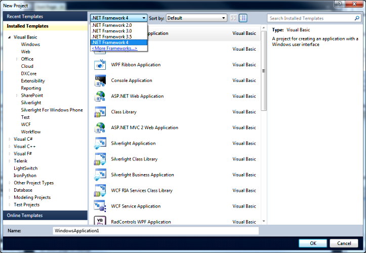 Visual Studio 2010 face2