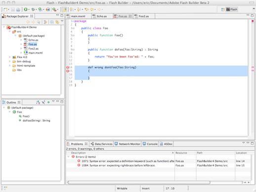 ActionScript Editor