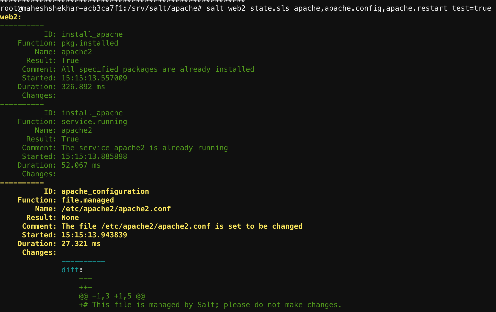 SaltStack - Apache Formula for Debian OS Family - DZone Open