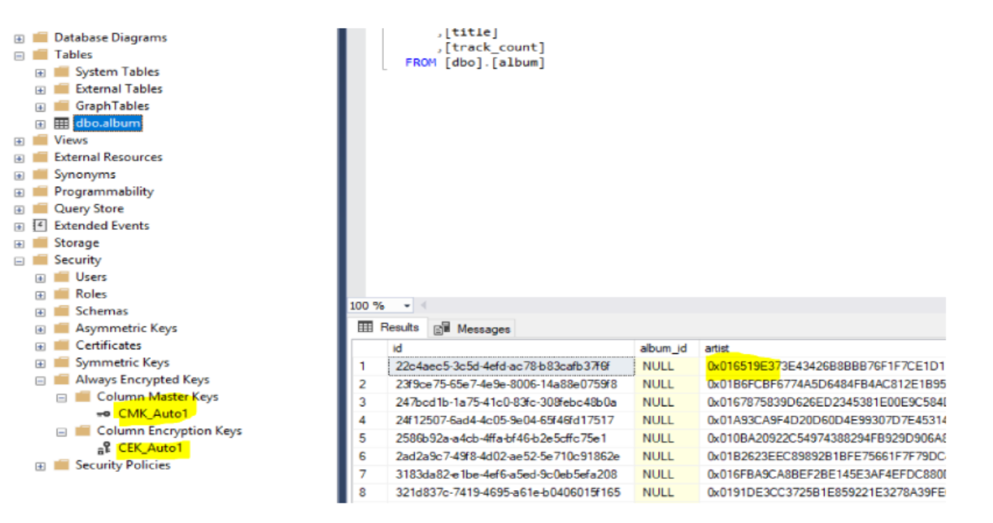 Azure Sql With Pcf Spring Boot Applications Part 2 Database Encryption Software The Master Key Is Not Stored Inside Only Information On How To Access It Used By Driver