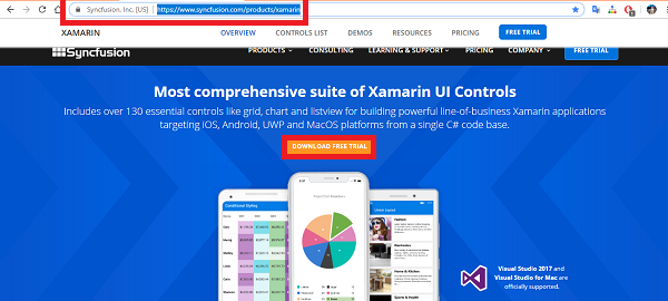 Install and Configure Syncfusion Essential Studio for Xamarin in