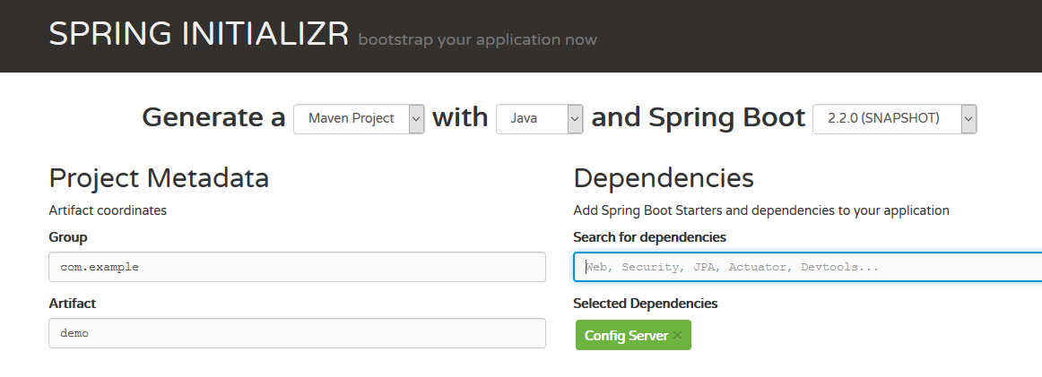 How to Use the Spring Config Server - DZone Java