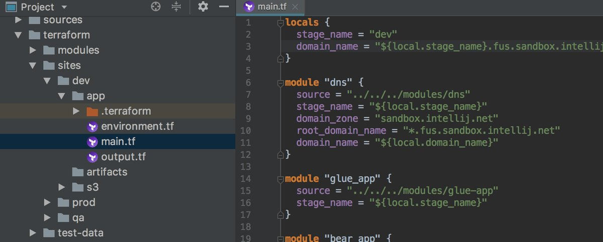 Terraform with IntelliJ IDEA