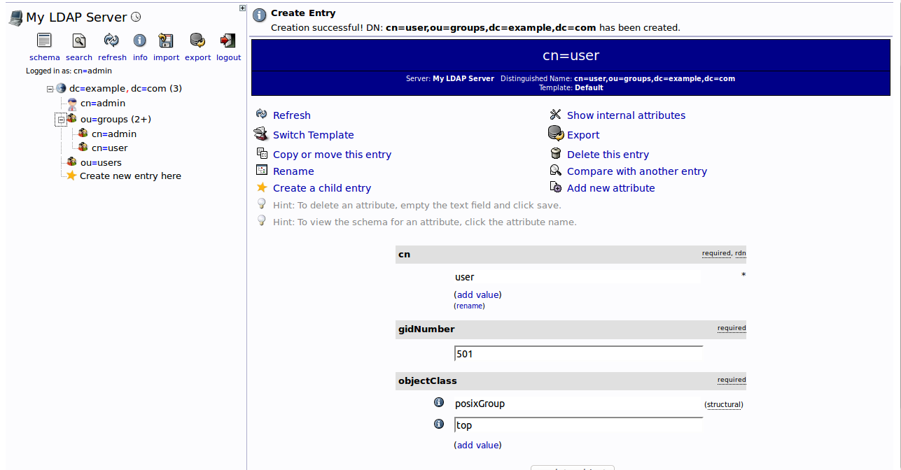How to Install OpenLDAP and phpLDAPadmin on Ubuntu 16 04