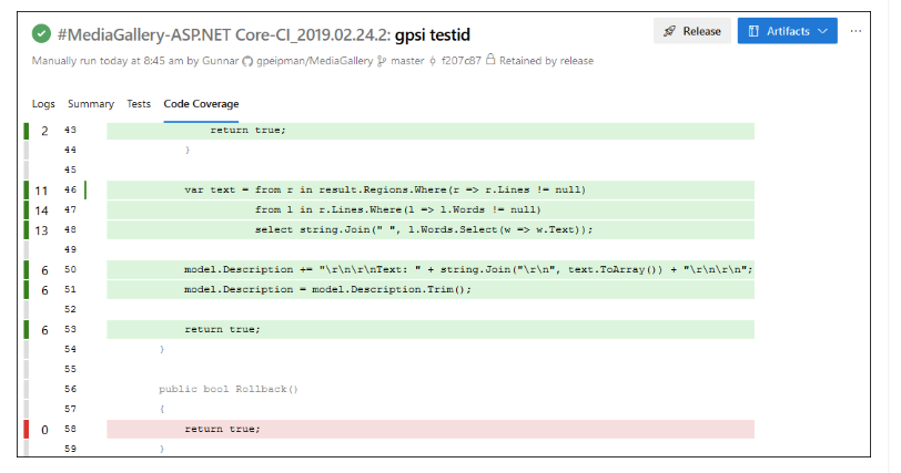 ASP NET Core Code Coverage Reports On Azure DevOps - DZone DevOps