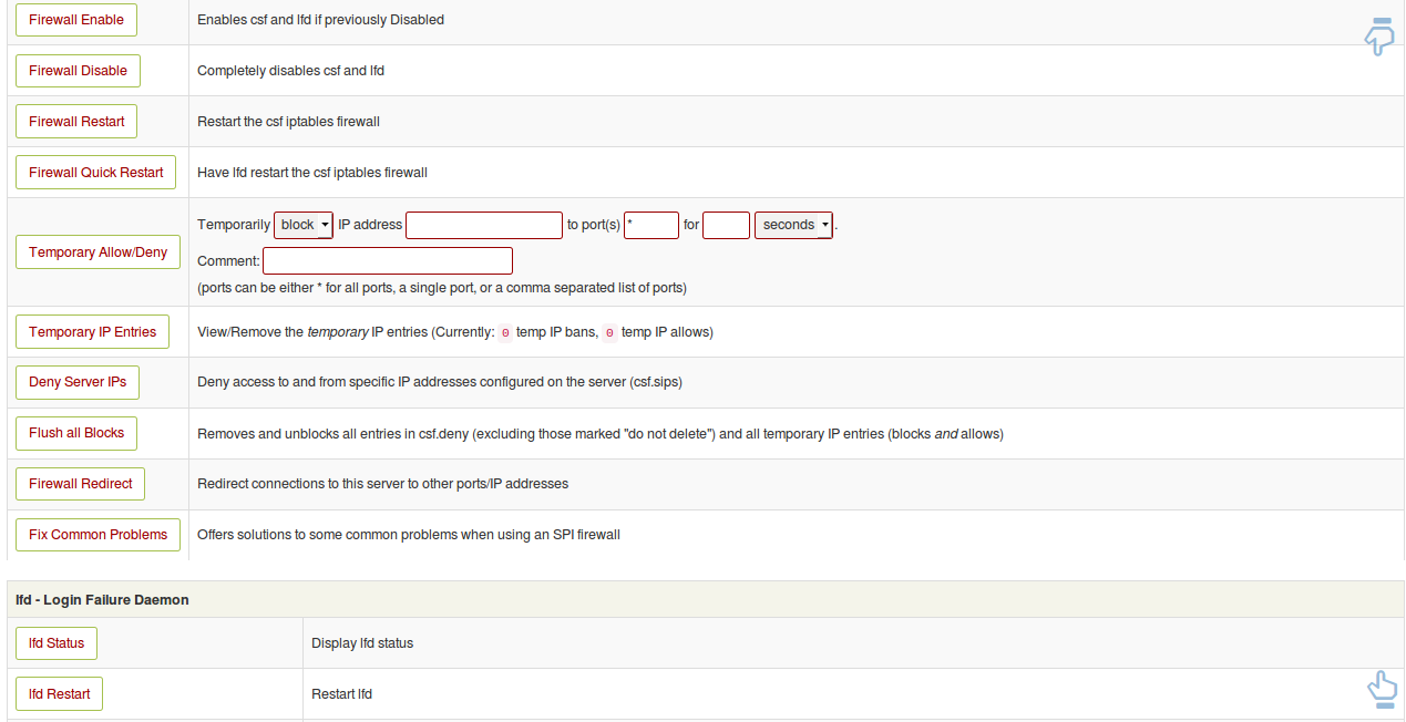 Install and Configure ConfigServer Firewall (CSF) on Ubuntu 16 04