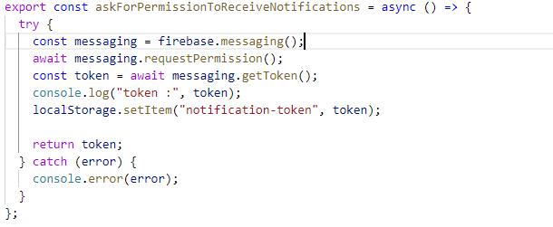 Push Notifications in PWA (React js) Using Firebase - DZone
