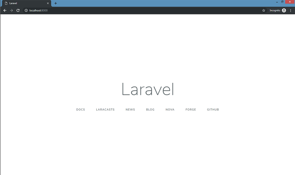 A Complete Guide to Laravel 5 8 Installation - DZone Web Dev