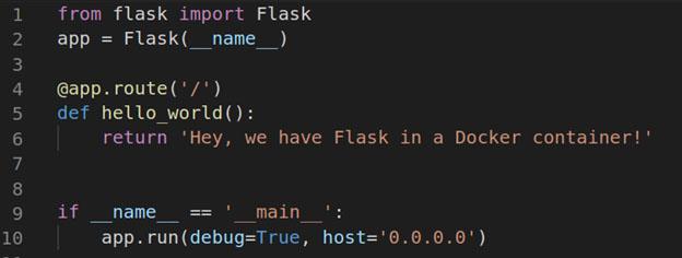 Using Docker for Python Flask Development - DZone Web Dev