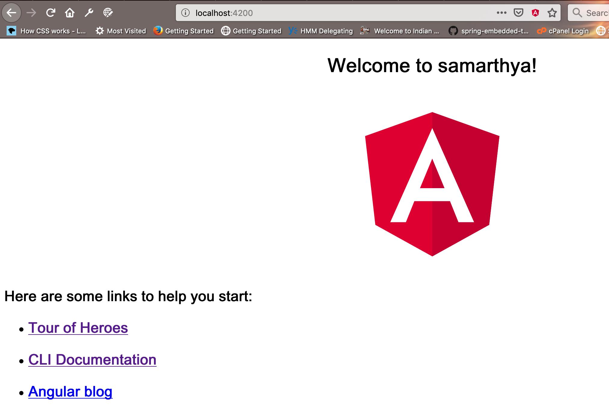 Startup application