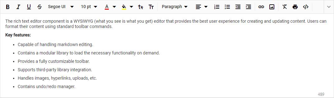 Comparison of Five JavaScript Rich Text Editors - DZone Web Dev