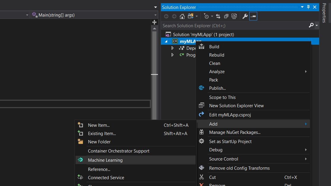 Machine Learning for  Net Developers Using Visual Studio