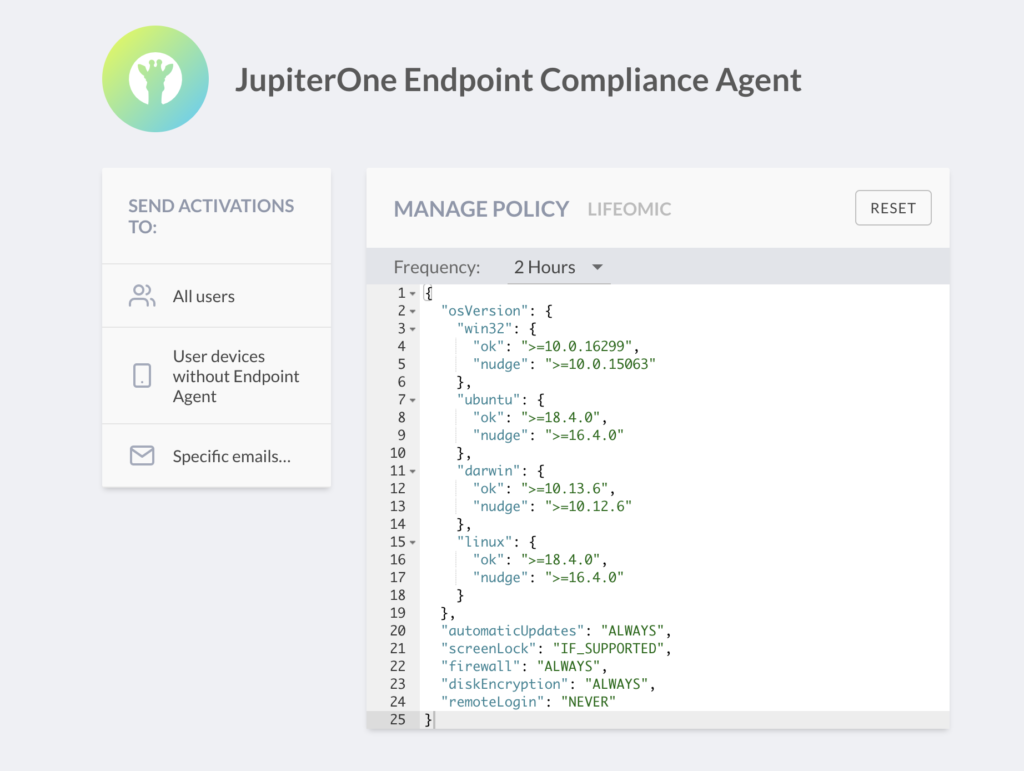 JupiterOne Compliance Agent