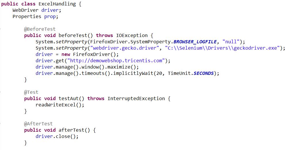 Data Parameterization Using Apache POI With Selenium - DZone