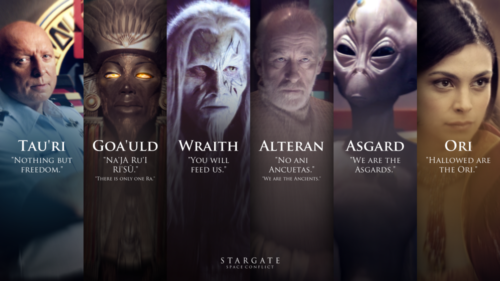 Stargate Factions - MGM