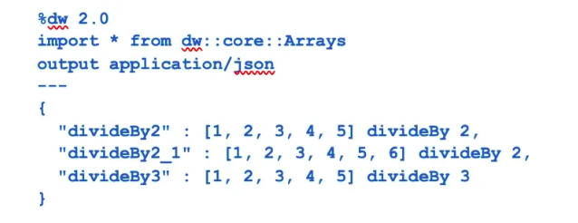 Power of Arrays Module in DataWeave - DZone Integration