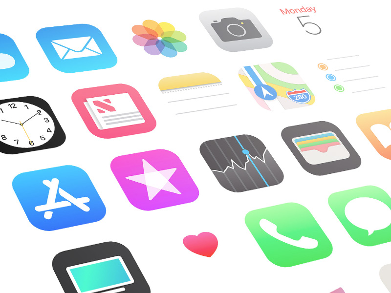Icons for IOS application