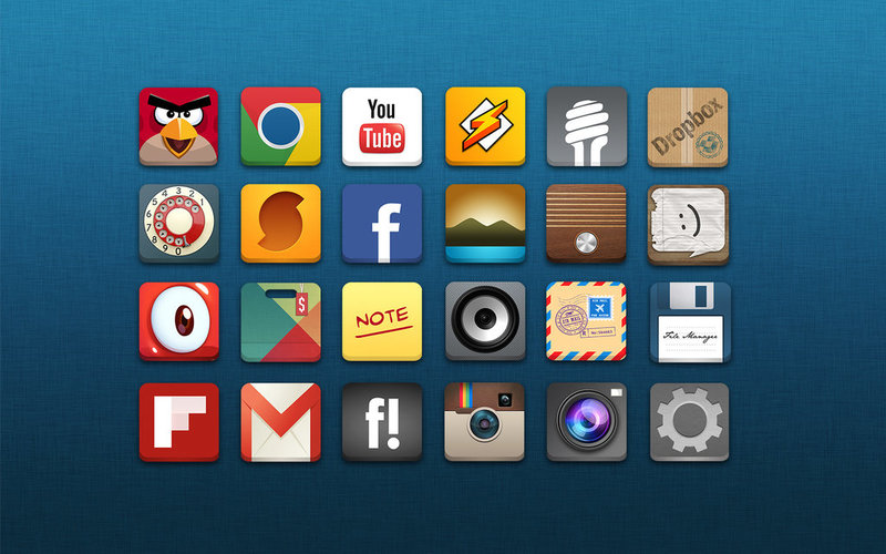 Icons for Android Applications