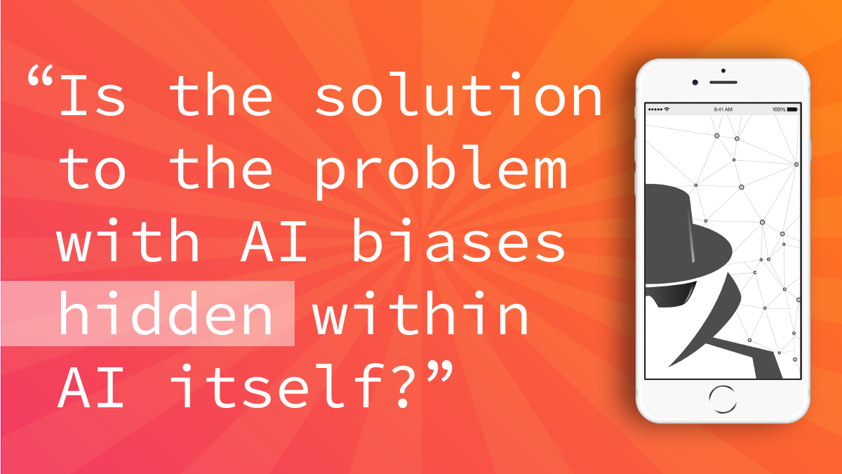 Is the solution to the problem with AI biases hidden within AI itself?