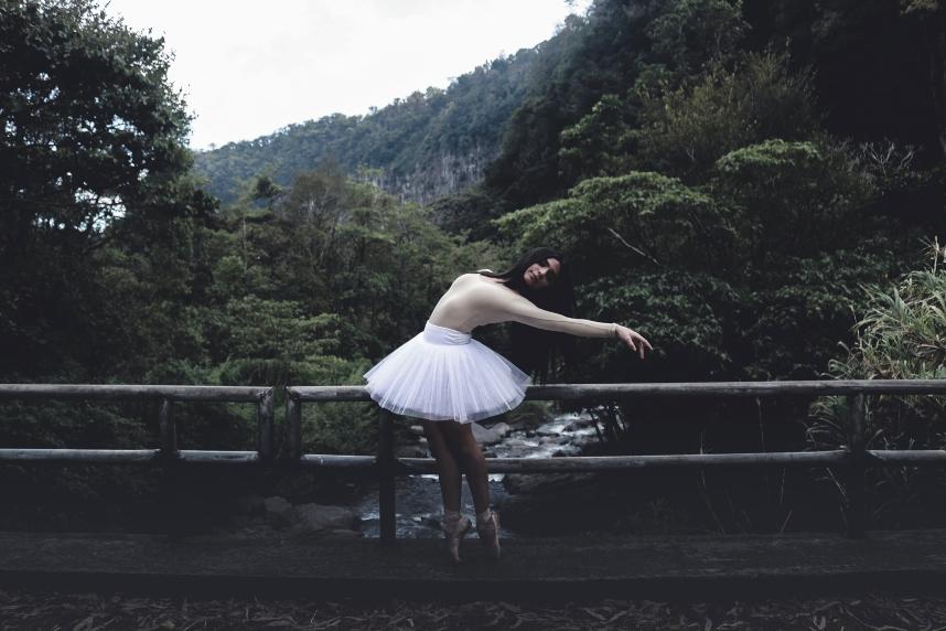 ballerina-on-bridge-in-woods