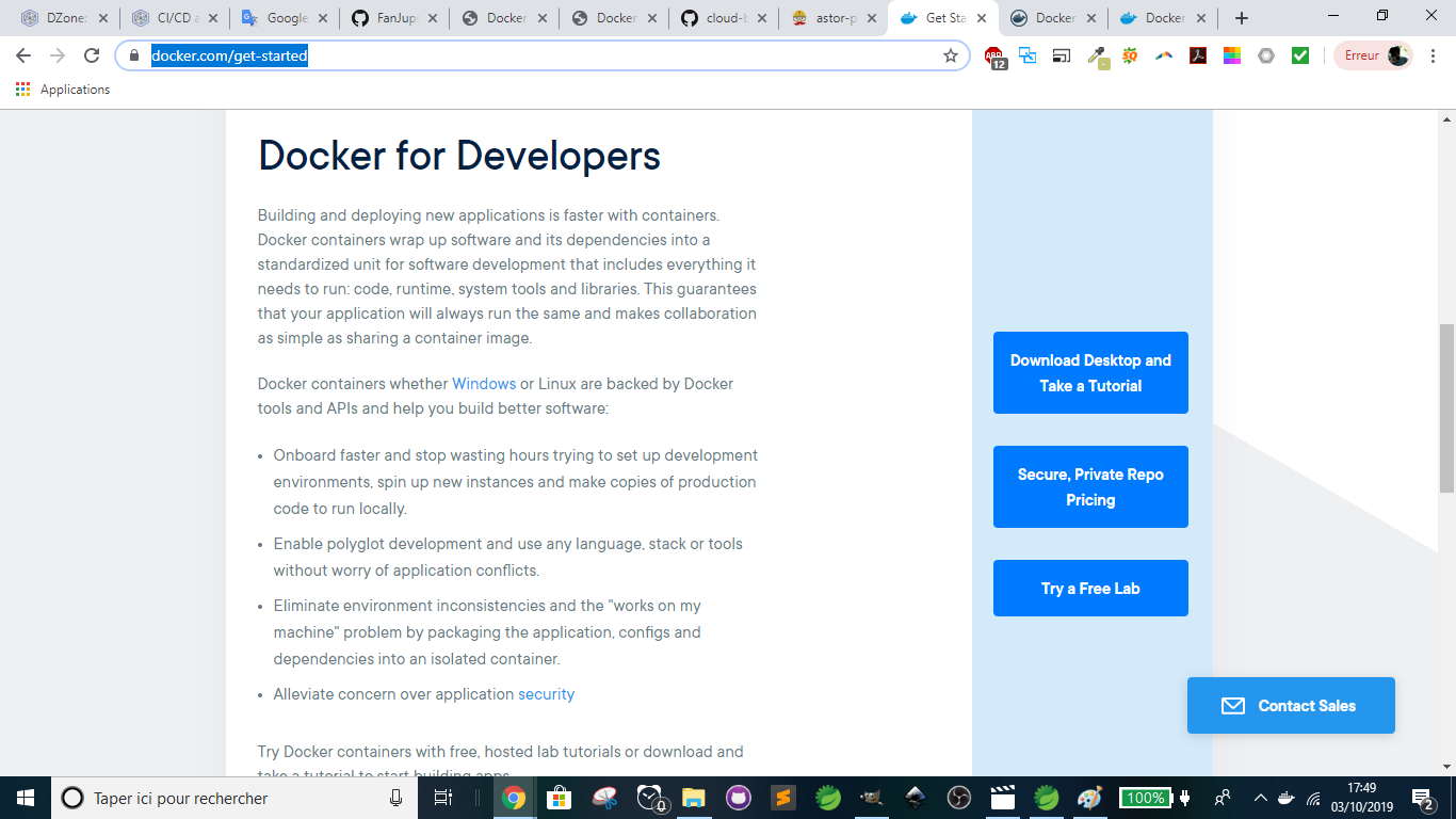 Docker - Download Desktop