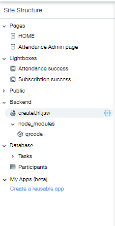 Updated file structure
