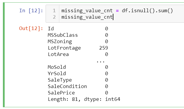 missing_value code