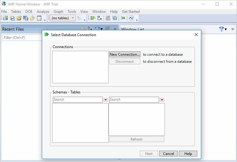 File > Database > Query Builder