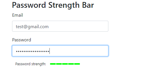 Password strength great