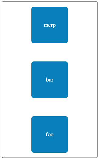 Reverse vertical alignment