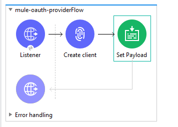 Mule Auth Provider Flow