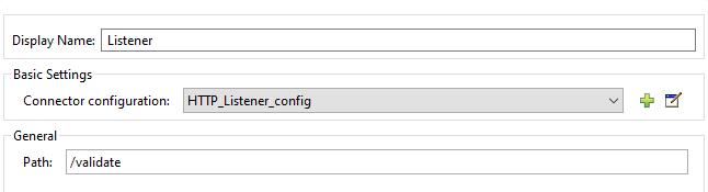 Configuring HTTP listener