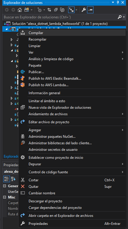 Visual Studio workbench
