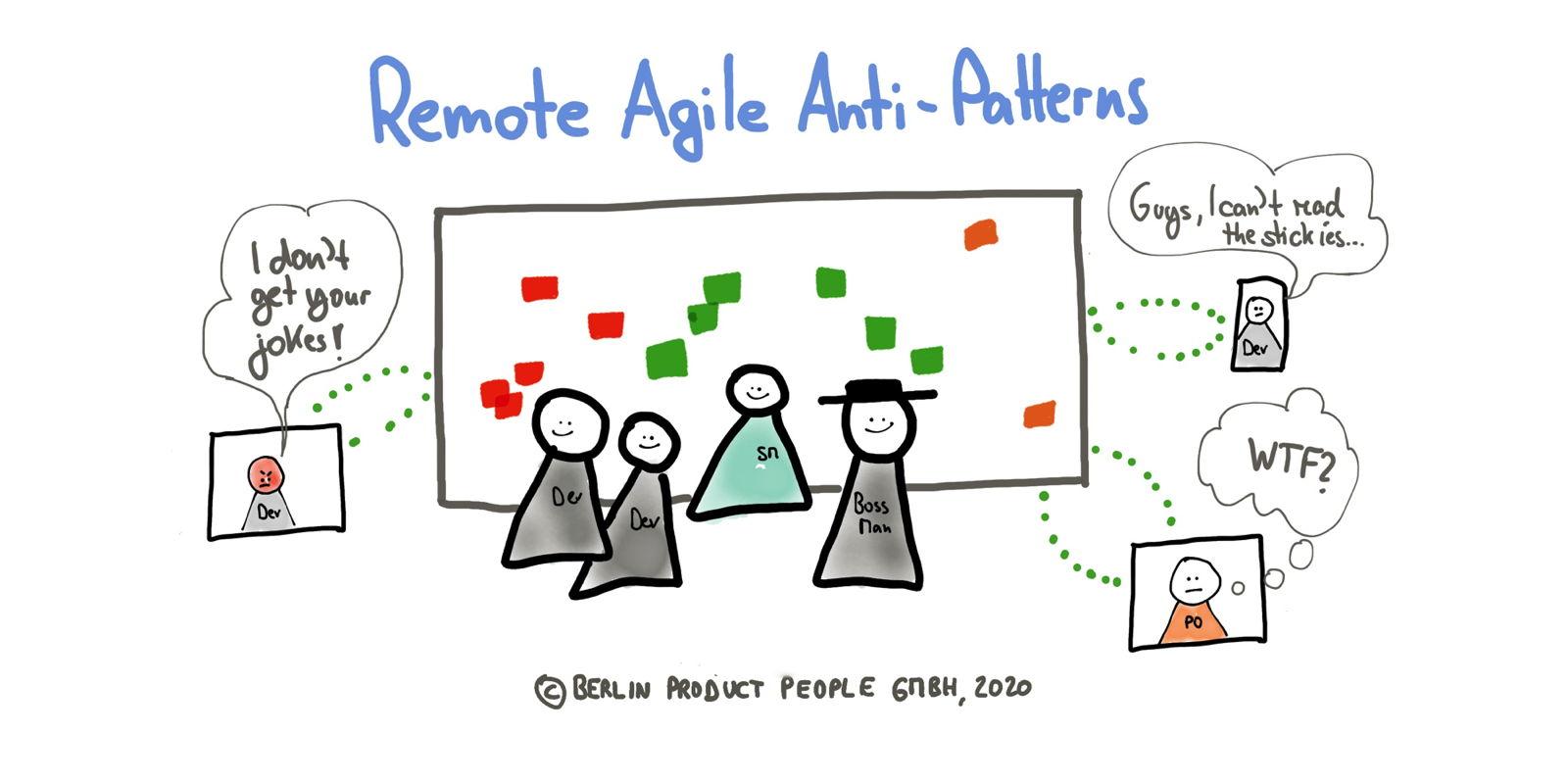 remote agile anti-patterns