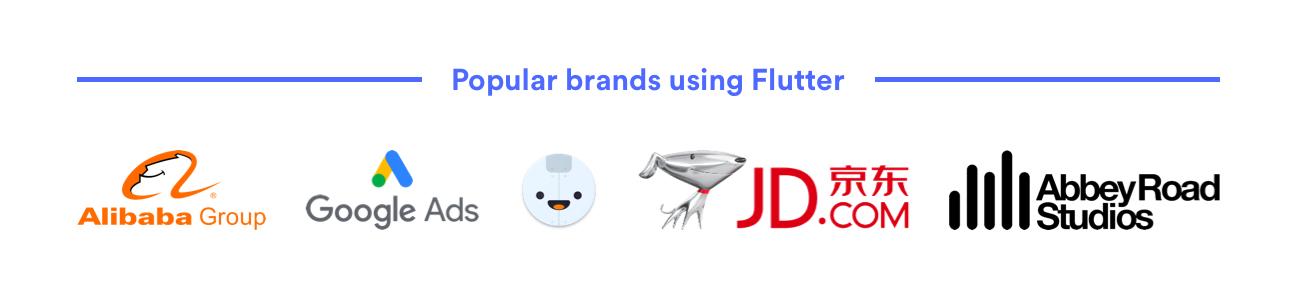 flutter brands