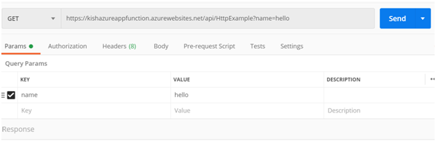 Adding key-values in Postman