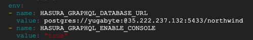 Deployment.yaml file modification