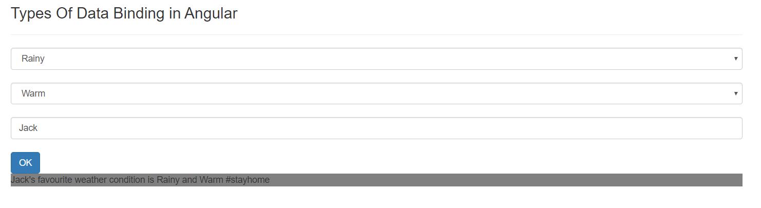 Two-way data binding example