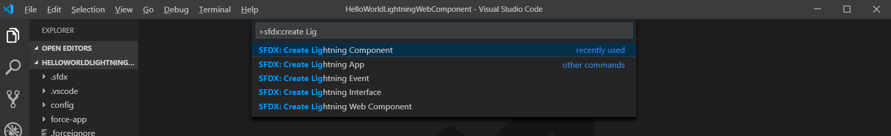 create Simple Lightning Component