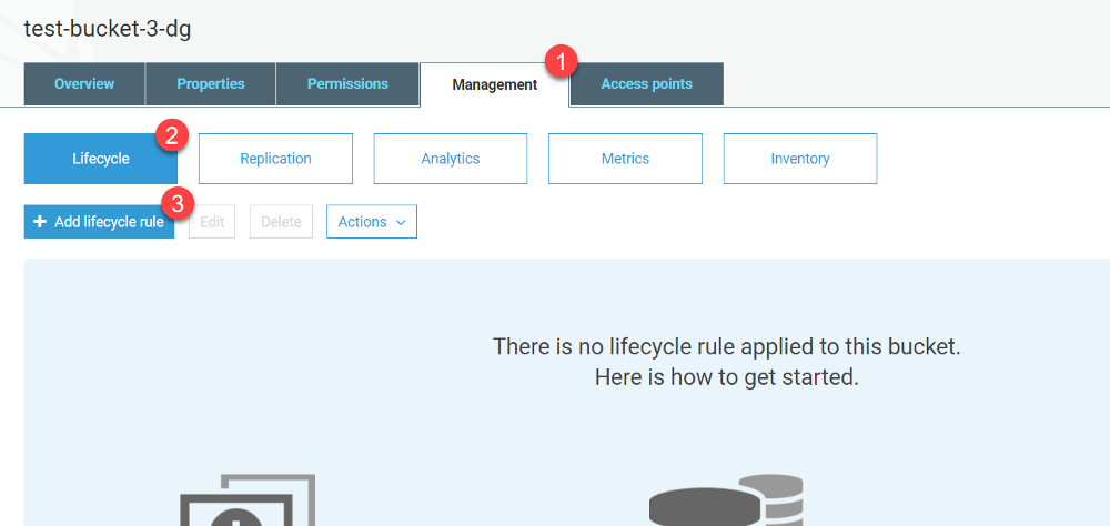Add lifecycle rule