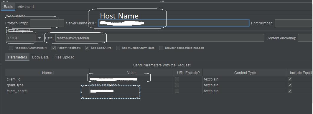 host name