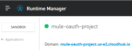 Runtime Manager
