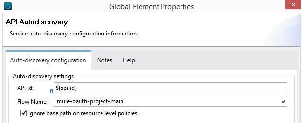 Global element properties