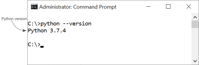 admin command prompt