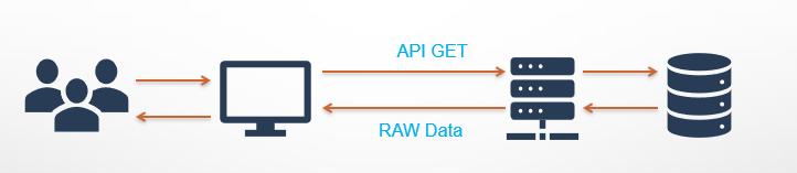 API GET and raw data