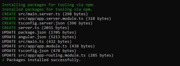 Installing express-engine@next module