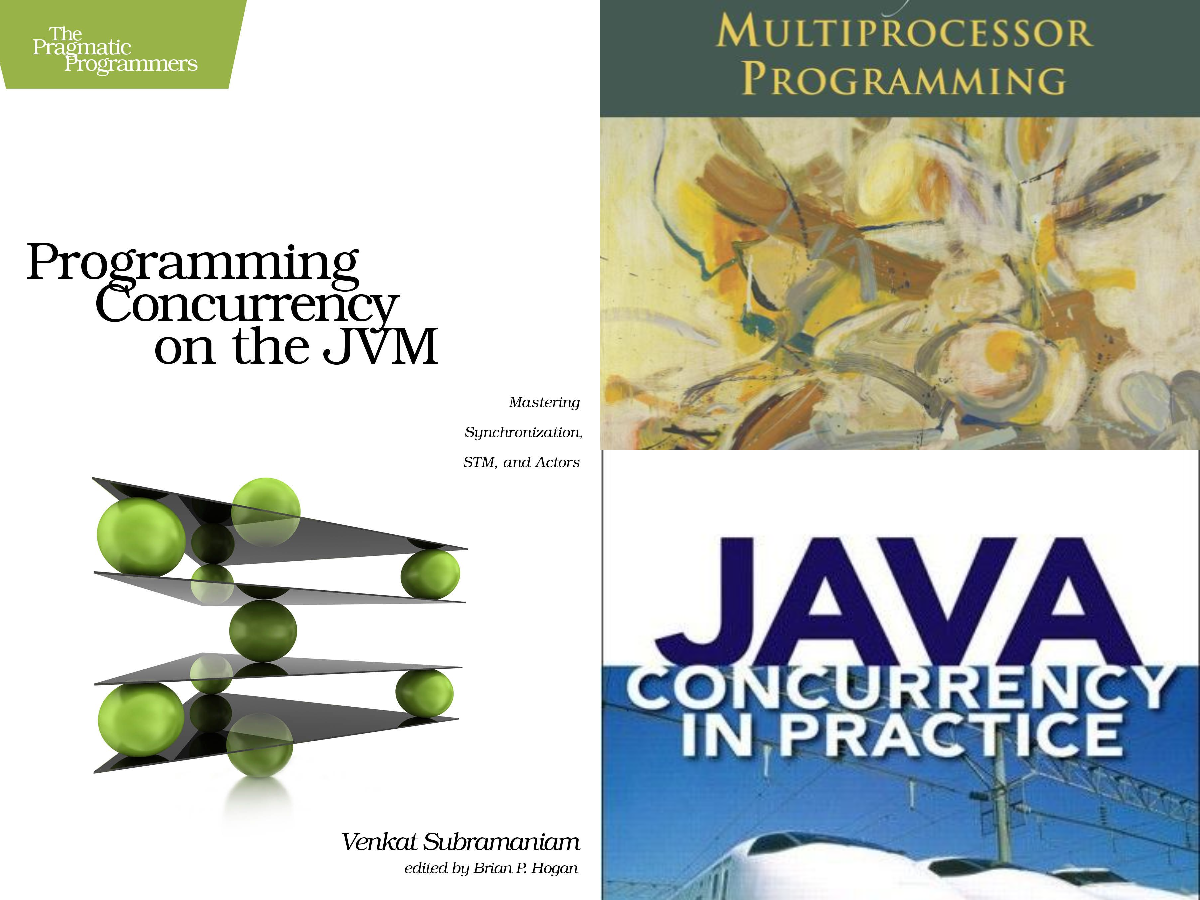 Programming concurrency in the JVM