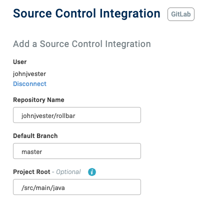 Source Control integration