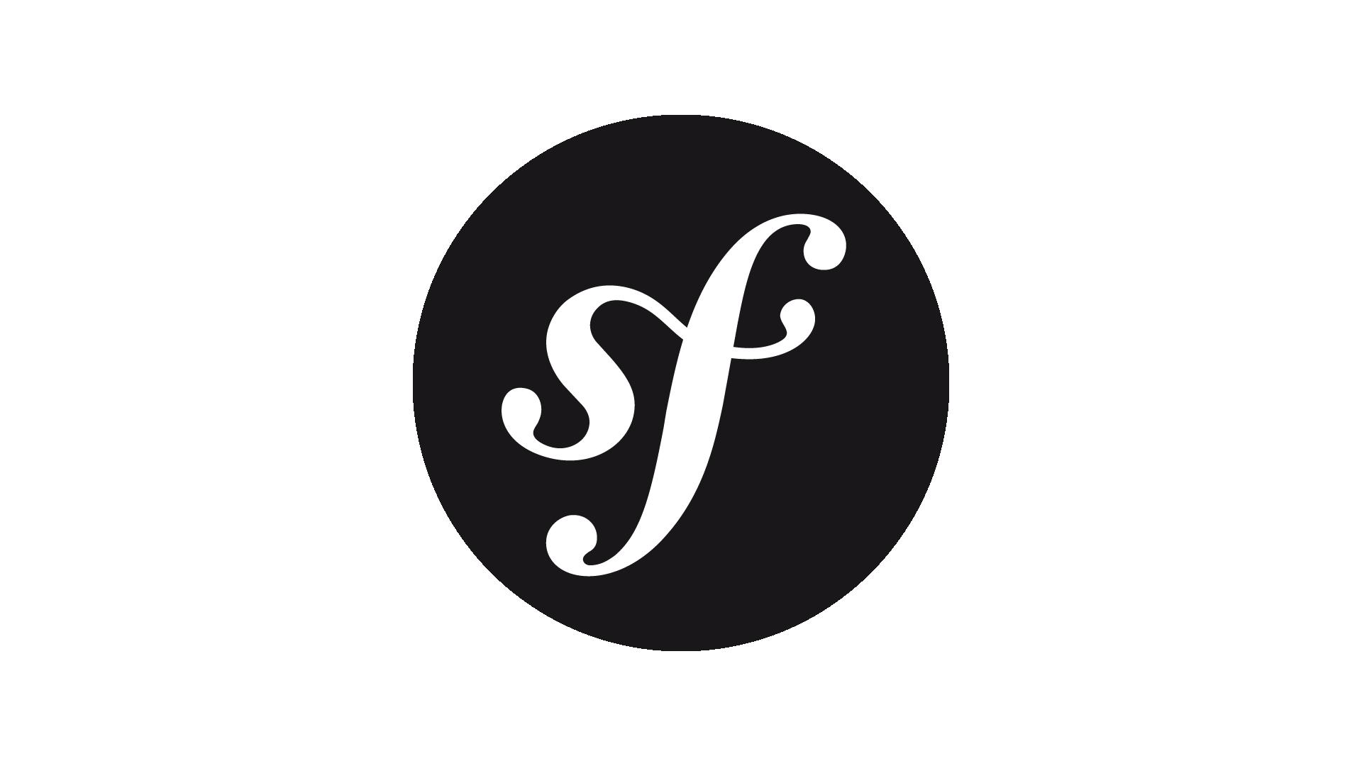 Symfony logo.