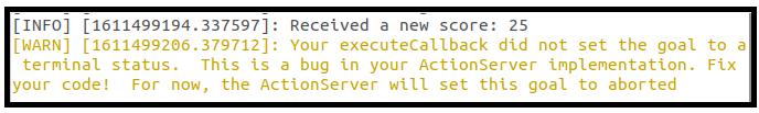 Testing error